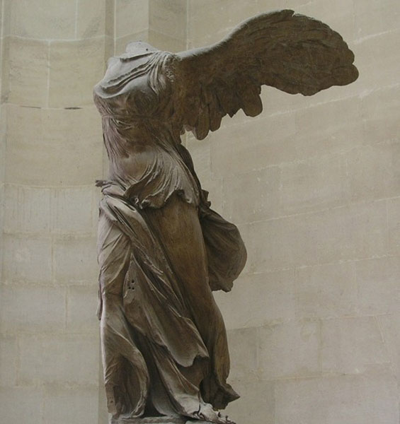 The Winged Victory (Nike)  of Samothrace